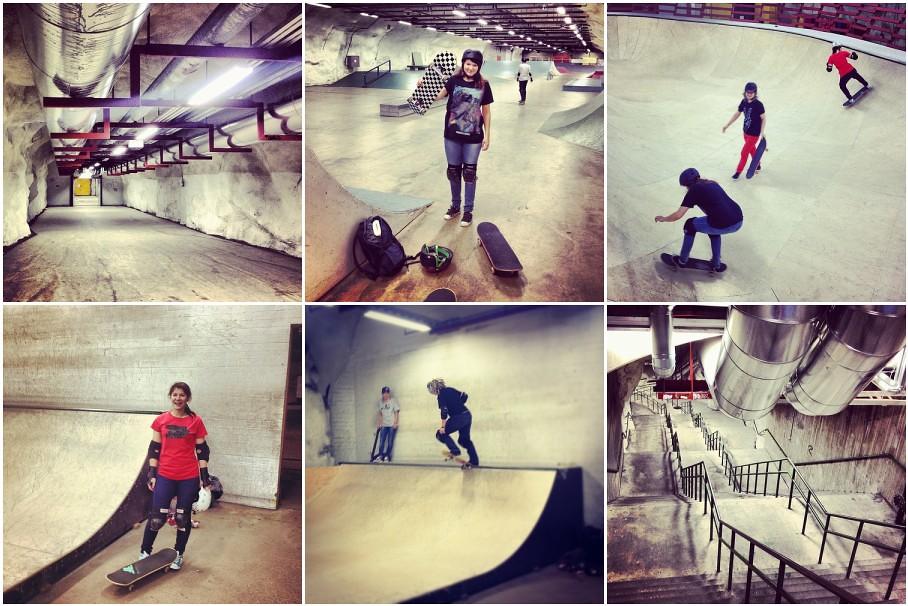 Skateboarding 1
