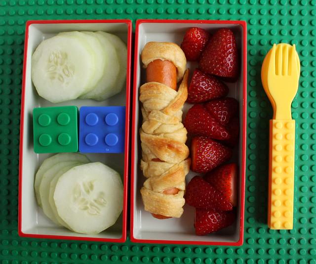 Preschool Lego-ish Bento #344