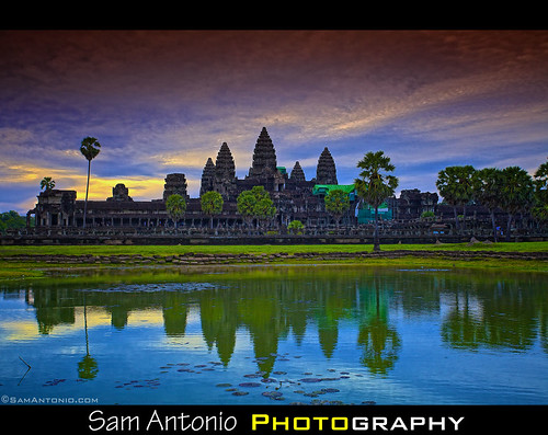 Angkor What??? by Sam Antonio Photography
