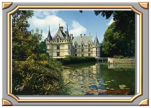 AZAY-le-RIDEAU (Indre- & -Loire) Le Château -70-150