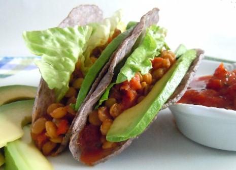 Yummy Lentil Tacos Recipe