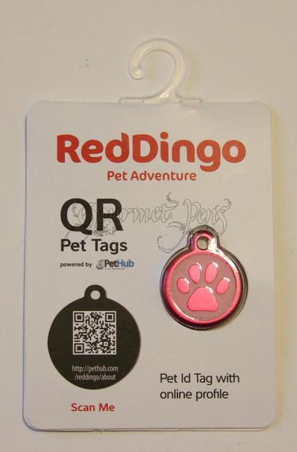 Red Dingo QR Tag