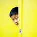 Behind A Yellow Door by Yeow8
