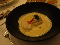 rolled john dory moilee, idiappam stack