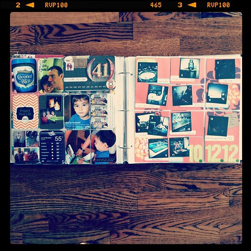 #projectlife week 41 full spread