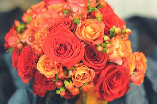 Kim & Brent Wedding Bouquet