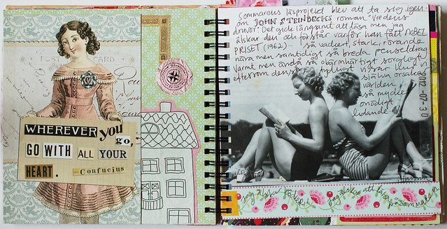 Art Journal Idea: Create a Sub Page