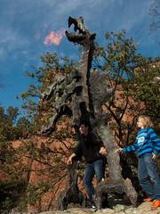 Fire-breathing Dragon!