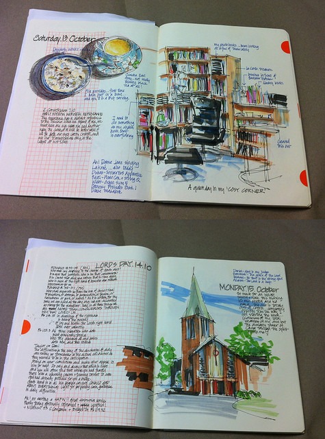 121016 Sketchbook vs Journal Book 2