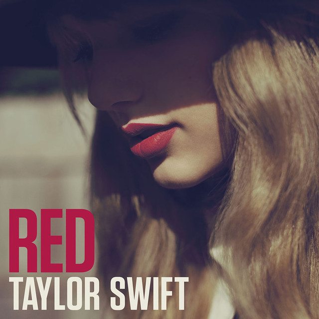 Taylor Swift Red Cover