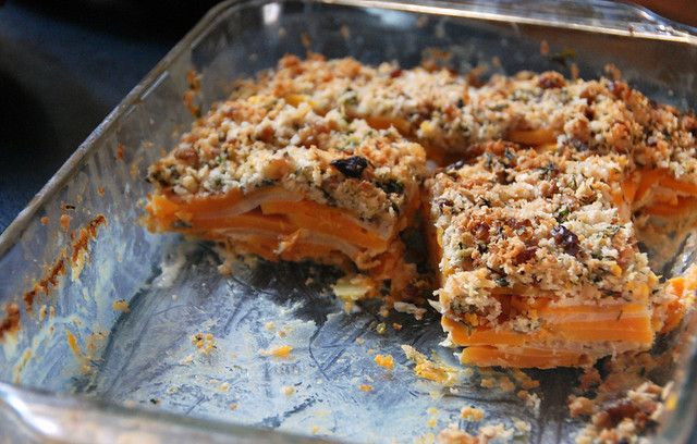 Butternut Squash and Celery Root Gratin | Flickr - Photo Sharing!