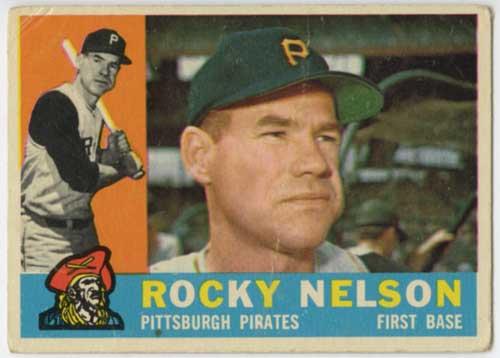 1960 Topps Rocky Nelson