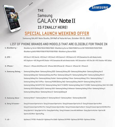 galaxy note promo