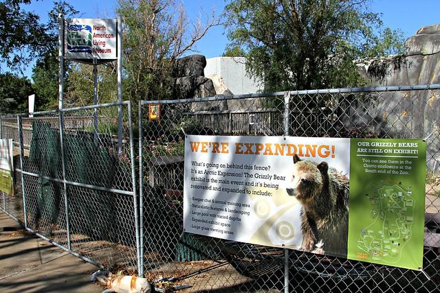 Tulsa Zoo Construction