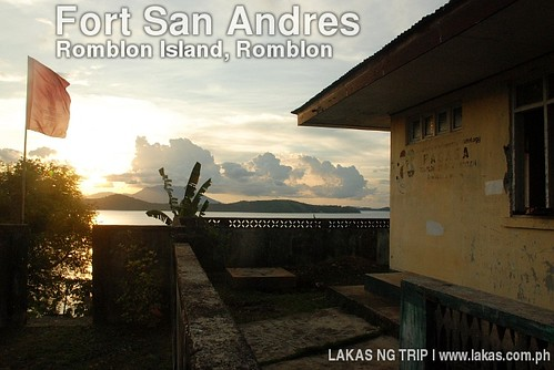 Sunset at Fort San Andres, Romblon Island, Romblon