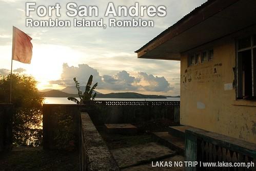 Sunset at Fort San Andres, Romblon Island, Romblon