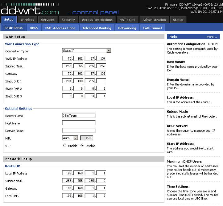 Dhcp Option 12