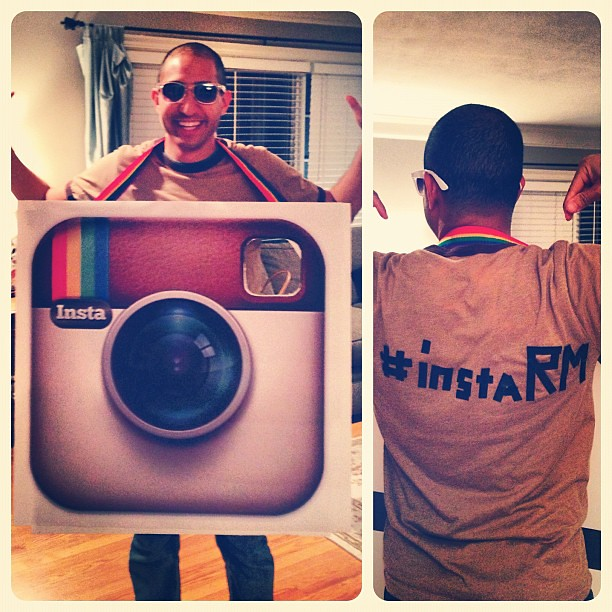 [drum-roll] Annnnd here is my Halloween costume this year... @INSTAGRAM!!! #instaRM
