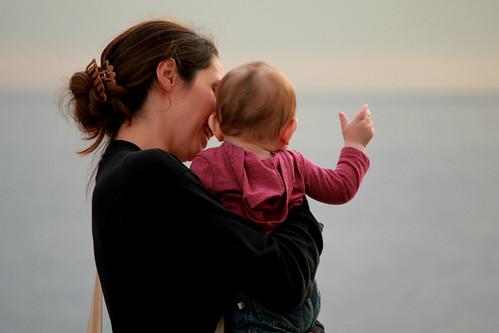 Mamma & figlia a Boccadasse