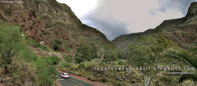 El barranco de Guayadeque
