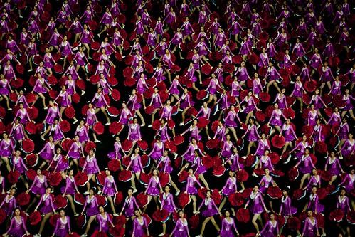 Arirang (Mass Games) performance, Pyongyang (DPRK / North Korea) 2012