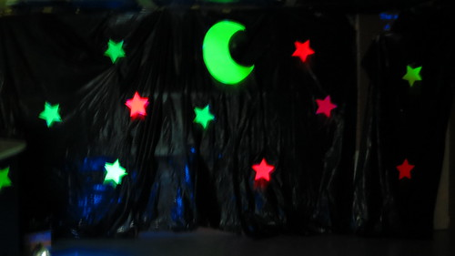 Classroom moon and stars