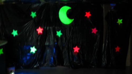 Classroom moon and stars