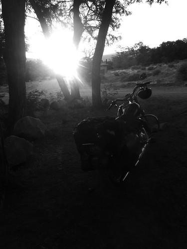 Harley Davidson Big Pine, California