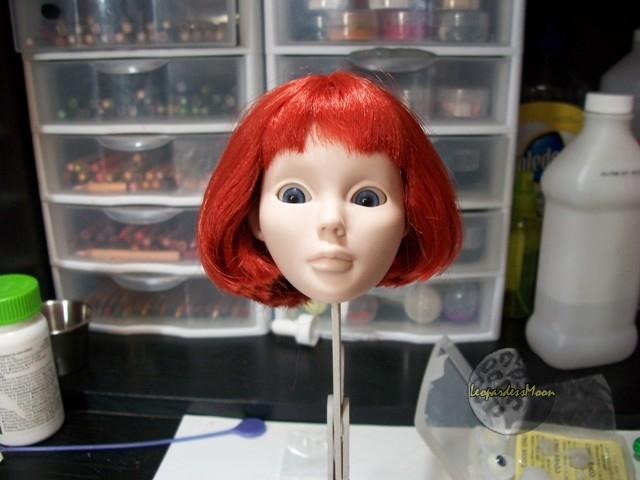 HOW TO: Install eyes into a dolls head 8115086312_d02f2d1a7e_o