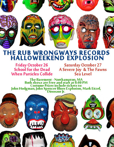 The Rub Wrongways Records Halloweekend Explosion