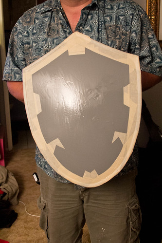 Hylian shield: masked off
