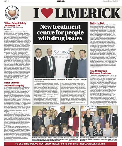Limerick Chronicle Column 23 Oct 2012