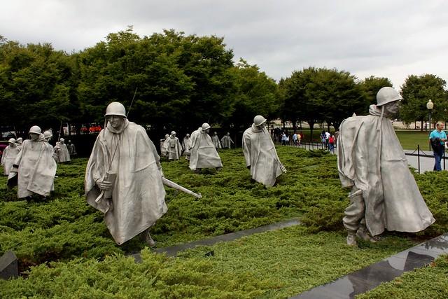 Korean War Memorial in Washington - Flickr image by prayitno