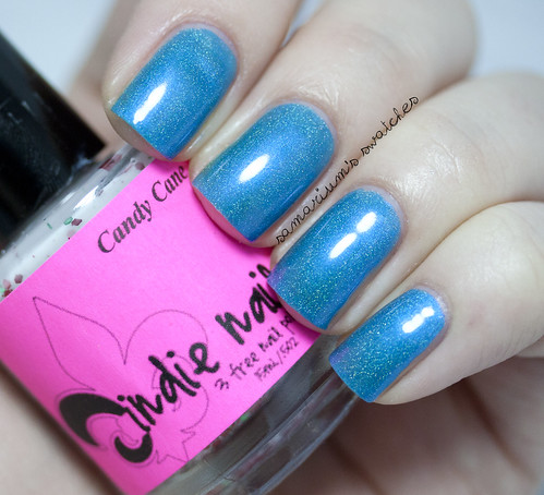 Jindie Nails Blue Blue xmas (2)