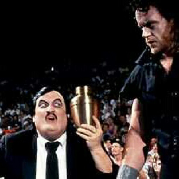 The Undertaker and Paul Bearer  Classic    throwbackthursday  tbtUndertaker And Paul Bearer