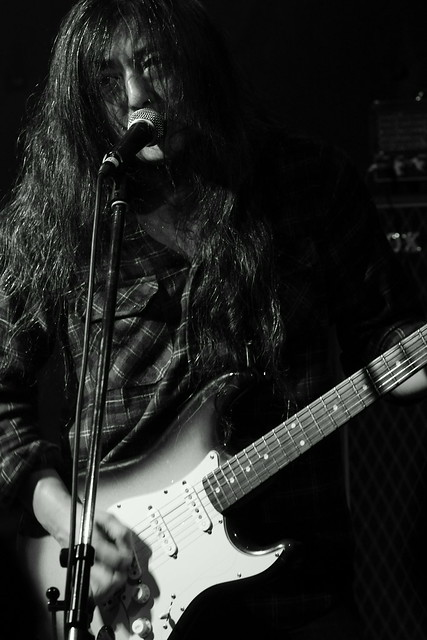 O.E. Gallagher live at Shimbashi ZZ, Tokyo, 21 Oct 2012. 098