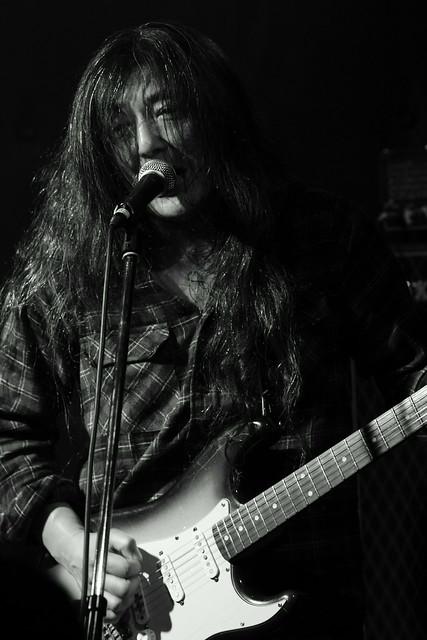O.E. Gallagher live at Shimbashi ZZ, Tokyo, 21 Oct 2012. 093