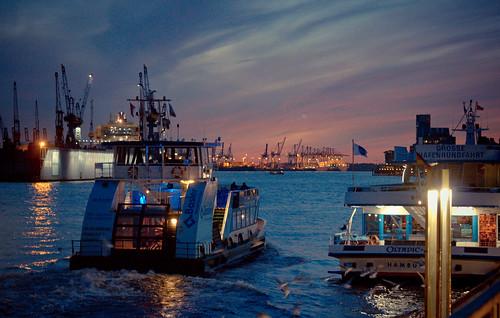 Hafenfähre Hamburg #9233