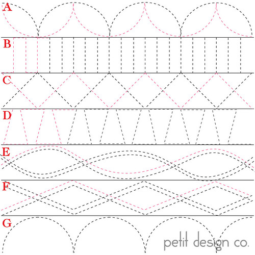 Quilting Patterns Using Walking Foot : Quilting Tutorials: 31 Days of Quilting with a Walking Foot