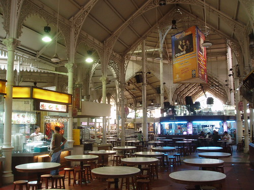 Lau Pa Sat Market Hall, Singapore