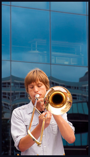 trombone by hans van egdom