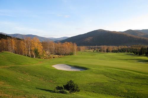 TOMAMU resort golf course.