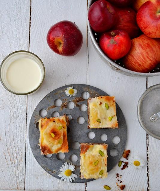 яблочные пирожные 3