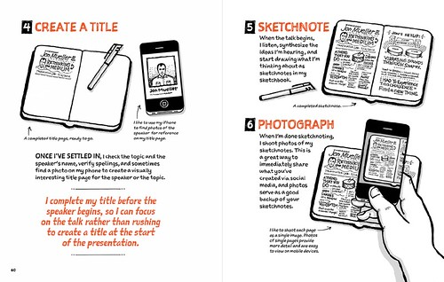 Sketchnote Handbook: Chapter 4 Illustration Sample