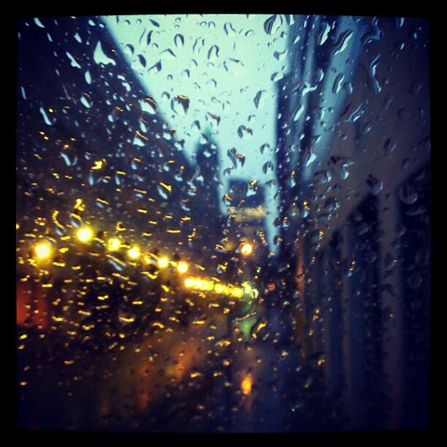 It's a cold and rainy morning in downtown Cincinnati. #HappyHurricaneDay
