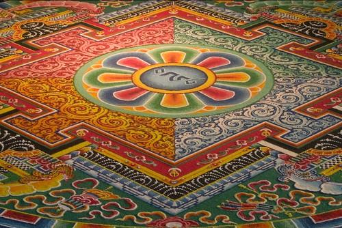 Ari Bhöd: Sand Mandala of Chenrezig