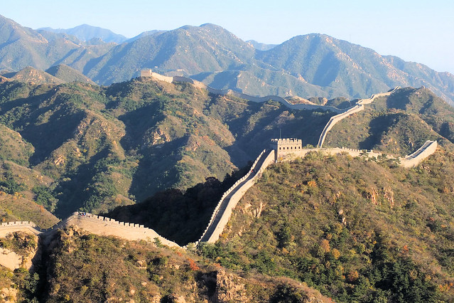 Great Wall of China by CC user keithroper on Flickr