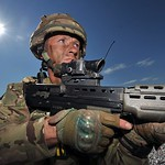 TA Reservist Soldier on Exercise in Italy