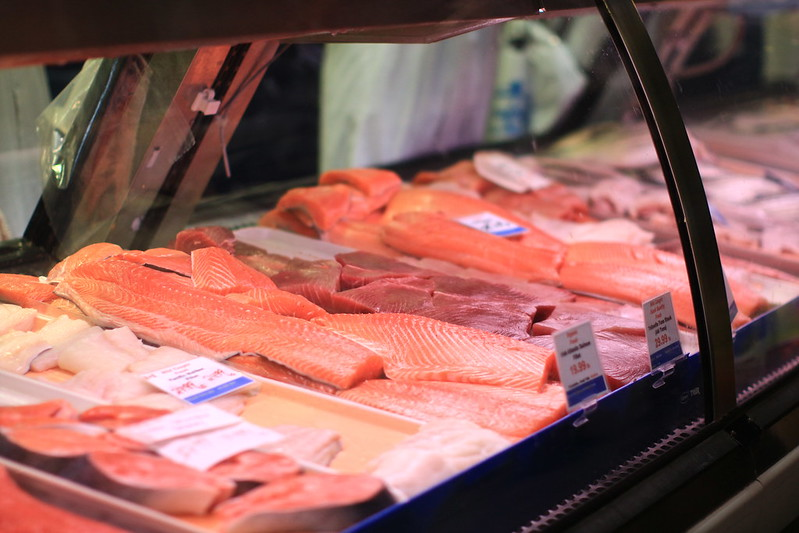St. Lawrence Market 多倫多的肉品市場