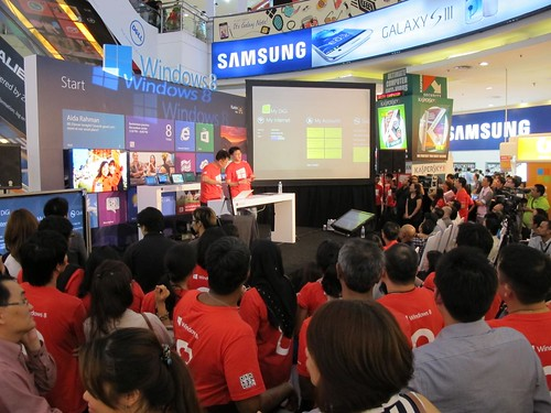 Windows 8 Launch Malaysia